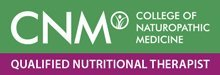 CNM Qualified Nutritional Therapist badge